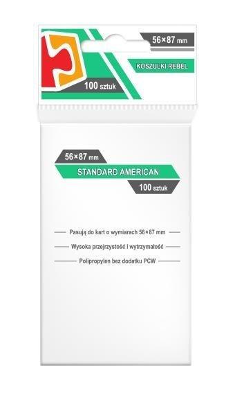 Koszulki Standard American 56x87 (100szt) REBEL