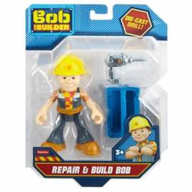 BOB Figurki z narzędziami Bob z wiertarką