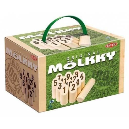 Mölkky w kartonowym pudełku (gra plenerowa)