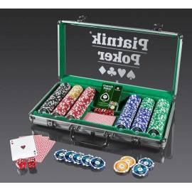Walizka Pokerowa - 300 żetonów 14g PIATNIK