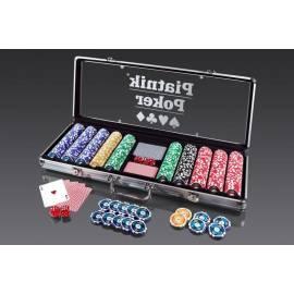 Walizka Pokerowa - 500 żetonów 14g PIATNIK