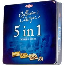 5w1 - Zestaw 5 klasycznych gier Tactic