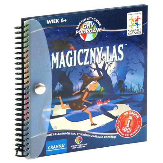 Magiczny las - magnetyczna gra podróżna