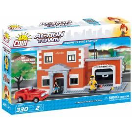 COBI Action Town 13 Remiza Straży Pożarnej 330 kl. (1477)