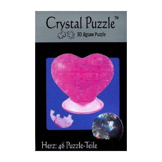 Crystal puzzle - Serce