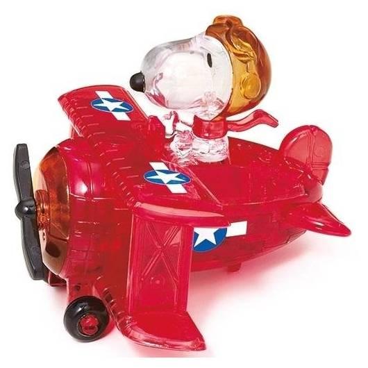 Crystal puzzle - Snoopy w samolocie