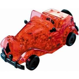 Crystal puzzle - Automobil czerwony