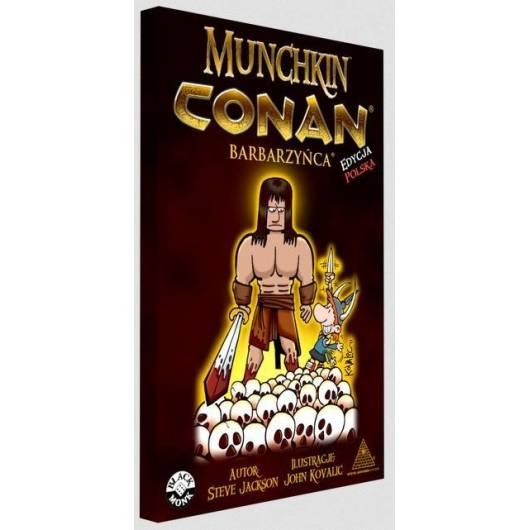 Munchkin Conan Barbarzyńca BLACK MONK