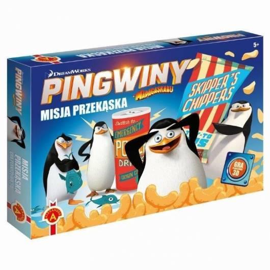 Misja przekąska. Pingwiny z Madagaskaru Alexander