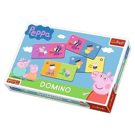 Domino - Świnka Peppa TREFL