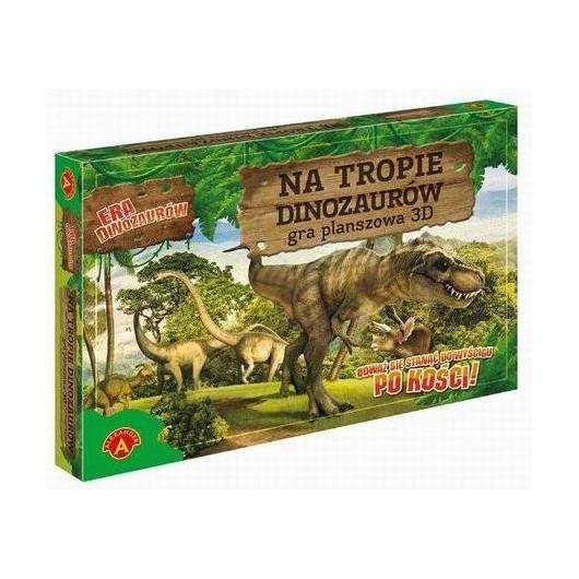 Era dinozaurów - Na tropie dinozaurów gra 3D