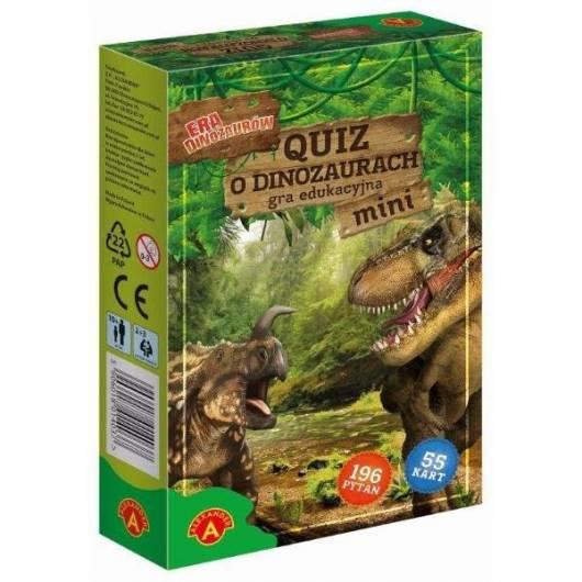 Era dinozaurów - Quiz o dinozaurach mini