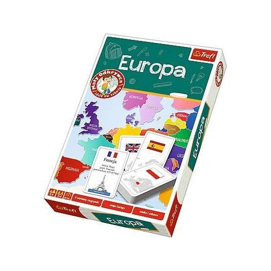 Mały odkrywca - Europa TREFL