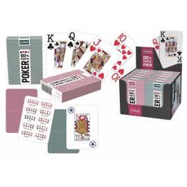 Karty do pokera plastikowe 55 listków TREFL