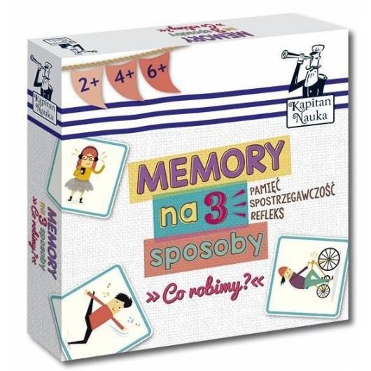 Kapitan Nauka. Memory na 3 sposoby. Co robimy?
