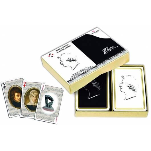 CHOPIN - komplet brydżowy 2x55 kart