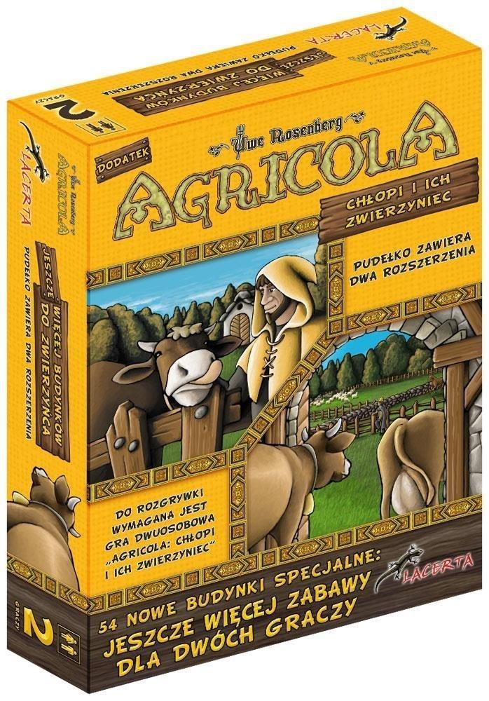 Agricola: Chłopi i ich zwierzyniec - Jeszcze więcej budynków do zwierzyńca LACERTA