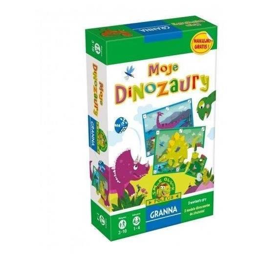 Moje dinozaury GRANNA