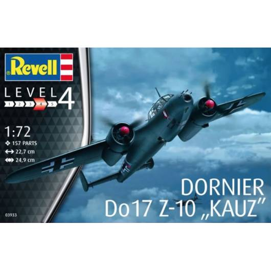 REVELL 1:72 Dornier Do-17 Z-10 Kauz (03933)