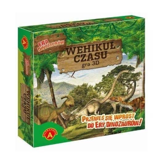 Wehikuł czasu 3D Era dinozaurów ALEX