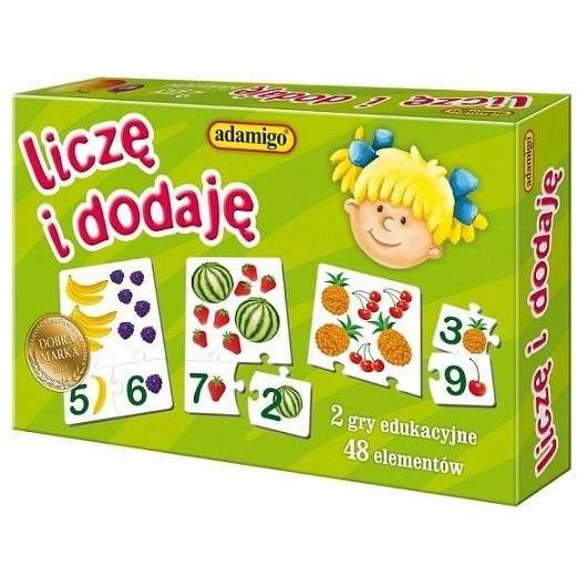 Liczę i dodaję - gra edukacyjna ADAMIGO
