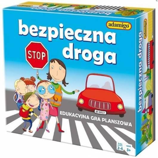 Bezpieczna droga - edukacyjna gra planszowa