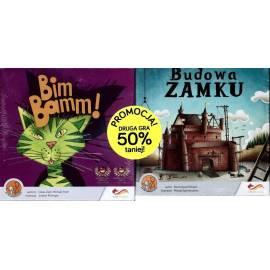 Bim Bamm! + Budowa zamku - pakiet dwóch gier
