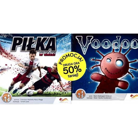 Piłka w grze! + VooDoo - pakiet dwóch gier