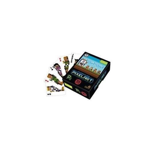 Pixel Art - karty TREFL