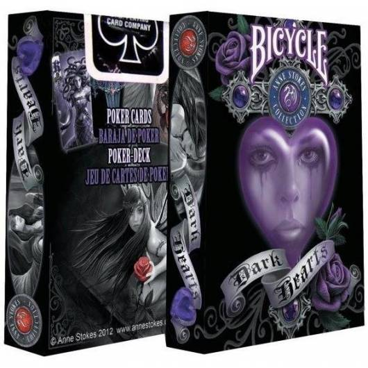 Karty Anne Stokes Dark Heart BICYCLE