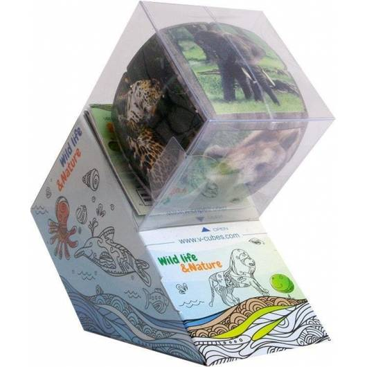 V-Cube Wild Animals (2x2x2) wyprofilowana VERDES