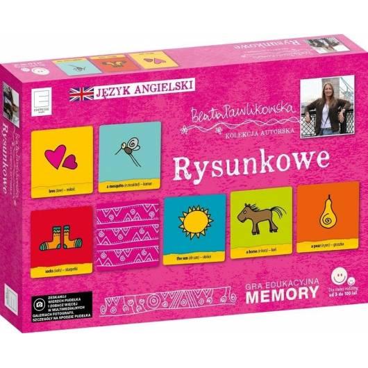 Memory językowe. Rysunkowe Beata Pawlikowska