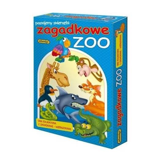 Układanka - Zagadkowe Zoo