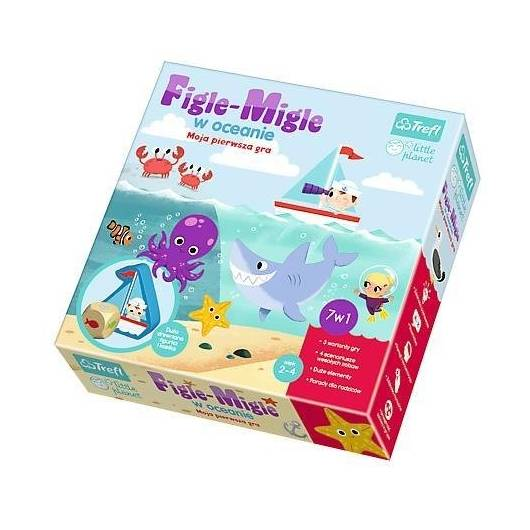 Little Planet - Figle-Migle w oceanie TREFL