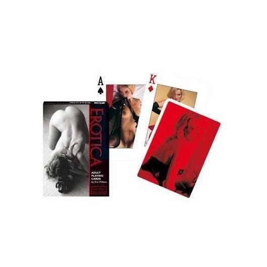 Karty pojedyncze 55 listków Erotica PIATNIK