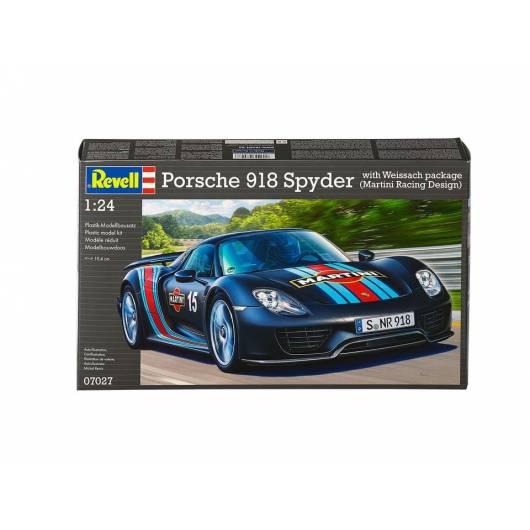 REVELL 1:24 Porsche 918 Spyder Weissach Sport Version (07027)