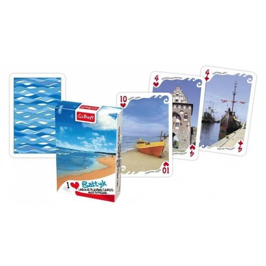 Kocham Polskę Bałtyk Plaża talia TREFL