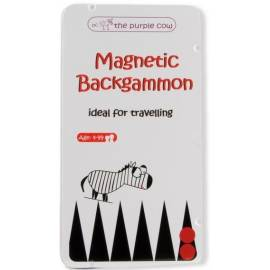 Backgammon - gra magnetyczna The Purple Cow
