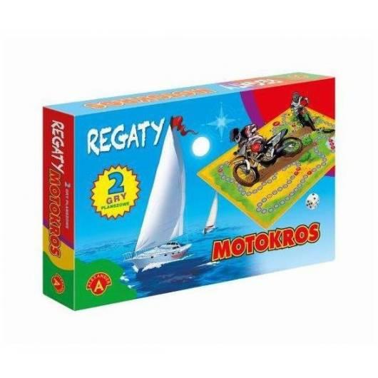 Regaty i Motokros - dwie gry ALEX