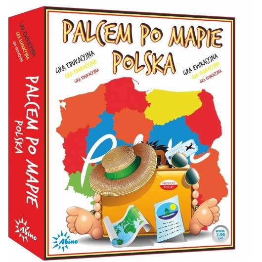 Palcem po mapie - Polska ABINO