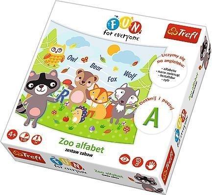 Fun for everyone - Zoo alfabet TREFL