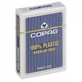 COPAG niebieskie - talia 55 kart CARTAMUNDI
