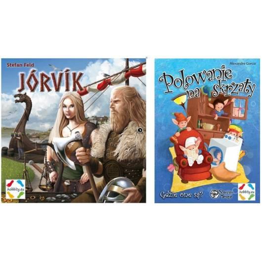 Jorvik + Polowanie na skrzaty - zestaw gier HOBBITY