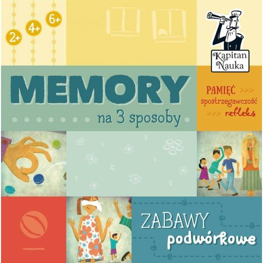 Memory na 3 sposoby. Zabawy podwórkowe