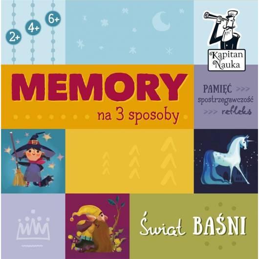 Memory na 3 sposoby. Świat baśni