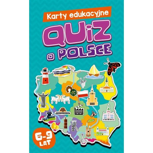 Karty edukacyjne. Quiz o Polsce