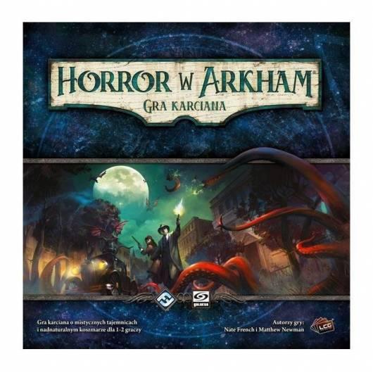 Horror w Arkham - Gra karciana - Zestaw Podstawowy GALAKTA