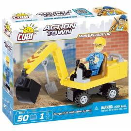 COBI Action Town Mini koparka 50 kl. (1671)
