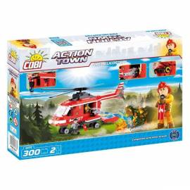 COBI Action Town Helikopter straży pożarnej 300 kl. (1473)