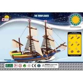 COBI Pilgrim Ship Mayflower 640 el. (21077)